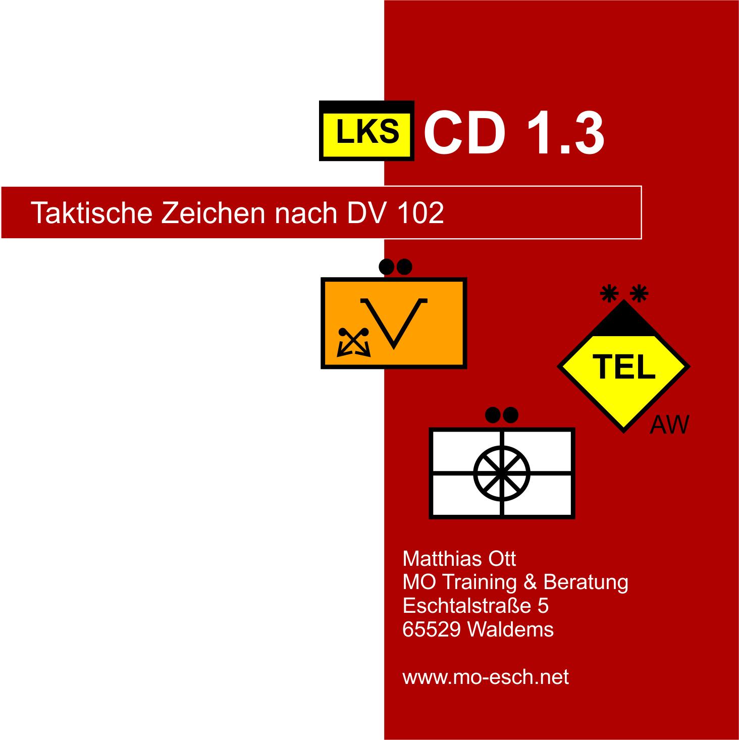 LKS CD Taktische Zeichen 1 (Download)