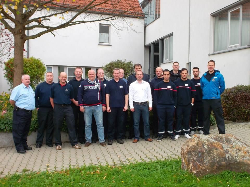 Die Teilnehmer kamen aus mehreren Bundesländern und aus Luxemburg